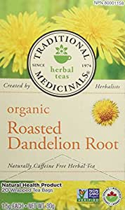 Traditional Medicinals Organic Roasted Dandelion, 20 tea bags