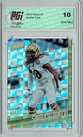 Amazon.com  Shaquem Griffin 2018 Panini SP  FB8 Checkerboard c97222e16