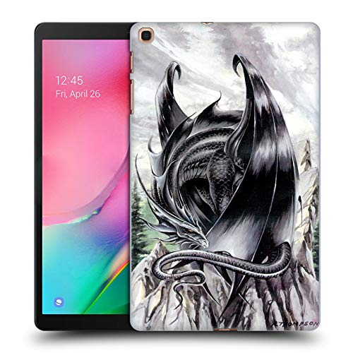 Official Ruth Thompson Morning Stretch Dragons 2 Hard Back Case Compatible for Samsung Galaxy Tab A 10.1 (2019)