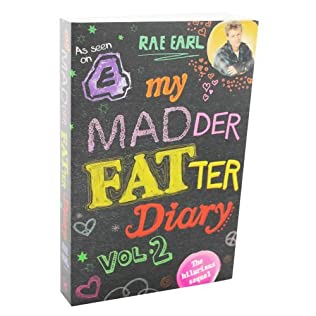 book cover of My Madder Fatter Diary