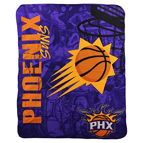 Phoenix Throw Suns - The Northwest Company NBA Phoenix Suns Printed Fleece Throw, One Size, Multicolor