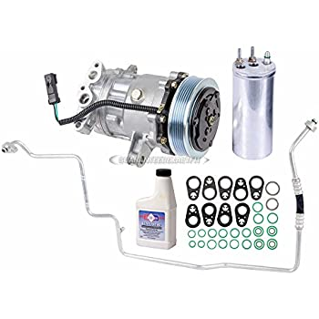 AC Compressor w/A/C Repair Kit For Jeep Liberty 2002 2003 2004 2005 - BuyAutoParts 60-80149RK New