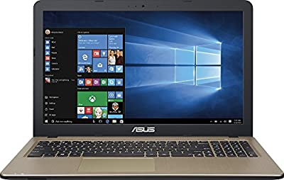 "2016 Newest Asus X540SA-SCL0205N 15.6"" Laptop (Intel Celeron N3050 Processor, 4GB Memory, 500GB Hard Drive, Chocolate Black)"