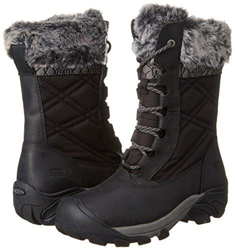 KEEN Women's Hoodoo III Winter Boot, Black/Gargoyle, 9 M US by KEEN (Image #6)