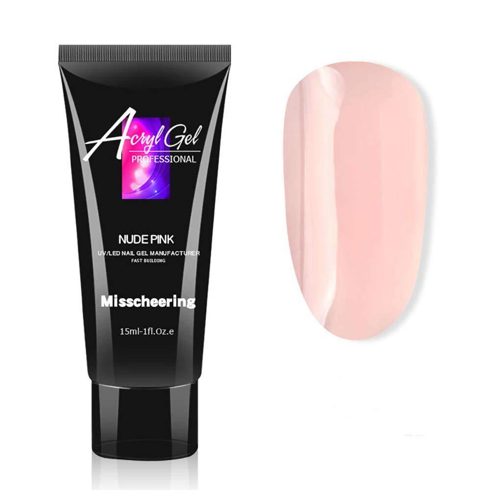 PorLous - Gel de extensión de uñas de 15 ml pintura gel de ...
