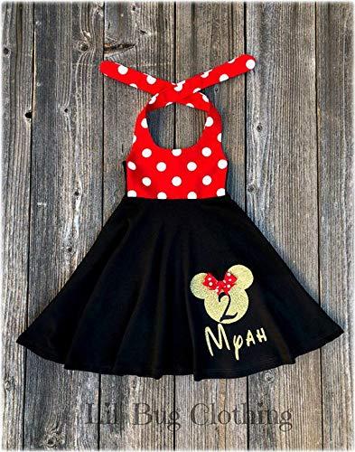 Minnie Mouse /& Daisy Duck Twirl Dress Daisy Duck Twirl Dress Minnie Mouse Twirl Dress