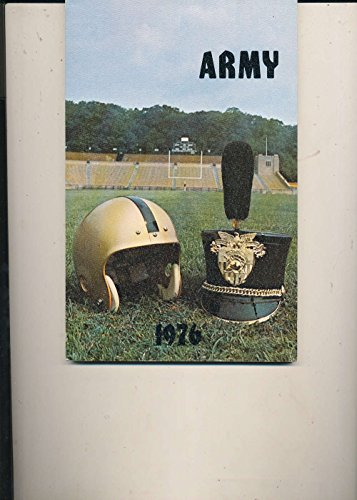1976 Football USMA Army Press Media College Guide 124pgs bxcfg76