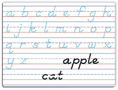 Write on/Wipe Off Handwriting Board, Magnetic Dry-Erase Board - Modern Manuscript, Capital and ()
