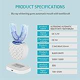Ultrasonic Automatic Toothbrush,360° Ultrasonic