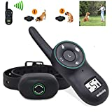 Dog Bark Collar Upgrade Training Collar Rechargeable Stop Barking Devices Humane Auto Bark Control,Beep Vibration Harmless Shock,Auto Protection,Five Sensitivity levels,Waterproof Anti Bark Collar Review