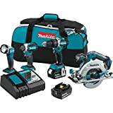 Cheap Makita XT446T 18V LXT Lithium-Ion Brushless Cordless Combo Kit (4 Piece)