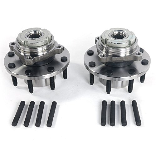 Set of 2 Front Wheel Hub & Bearing Left or Right Pair Set for 99-01 Ford F-250 F-350 Super Duty, 8 Lug 4WD 4x4 by Autoforever