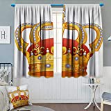 Best Eclipse Home Fashion Thermal Insulated Blackout Curtains Royal Blues - Chaneyhouse King Window Curtain Drape Royal Crown Review