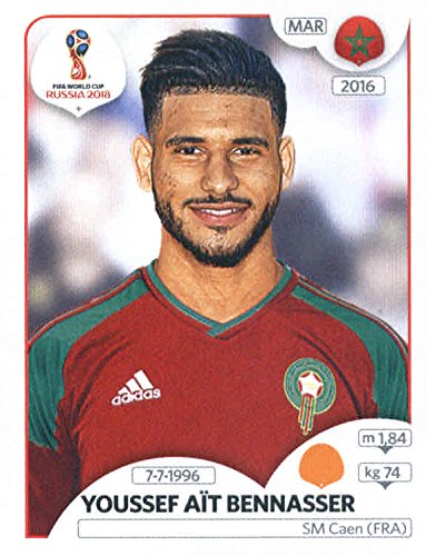 2018 Panini FIFA World Cup Stickers #167 Youssef Ait Bennasser Morocco