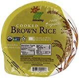 Steamed Brown Rice Bowl, Organic, Microwaveable, 7.4-Ounce Bowls (pack of 48)