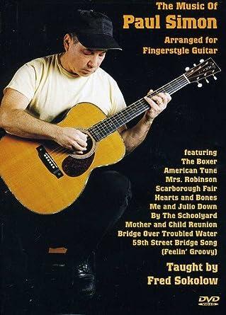 Amazon.com: Music Of Paul Simon Arranged for Fingerstyle Guitar ...