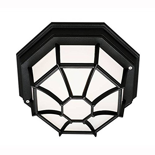 Bel Air Lighting CB-40581 BK Flushmount Outdoor Light Fixture