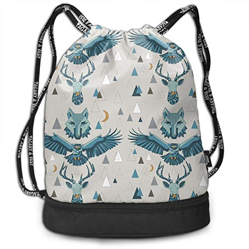 Drawstring Backpack Spirits And Stars Of The Mountains - Small Repeat Gym Bag
