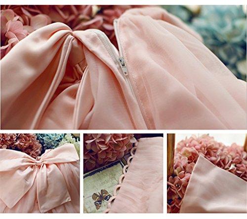 Pink A Drasawee Linie Kleid Damen fxfZwI