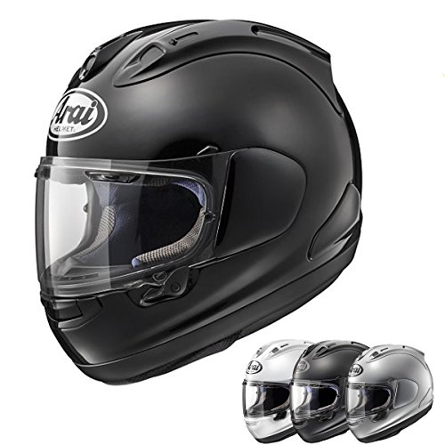 Arai Corsair-X White Full Face Helmet, M Domain Cheek Pads