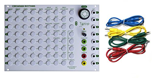 Tiptop Audio Circadian Rhythms Grid Sequencer w/ 4 Cables