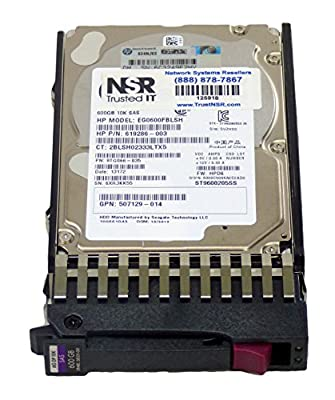 Hp 619286-003 619286-003 Hp 600gb 10k 6g Sff Sas Hdd