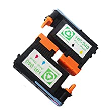Ouguan Ink 2 PACK 940 Printhead Compatible with HP940 Print Head C4900A C4901A For HP Officejet Pro 8000 8500 8500A 8500A Plus 8500A Premium