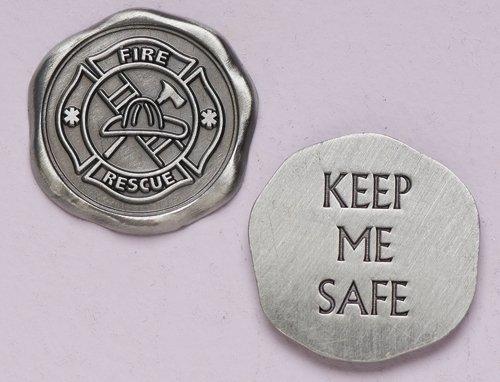 - Roman Pocket Charm 40120 Firefighter Pocket Token