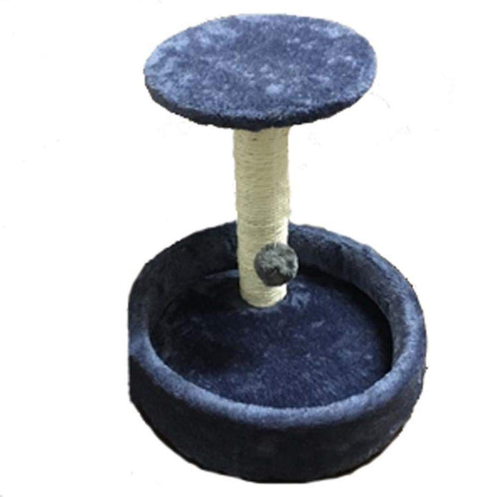 bluee Axiba Play Towers Trees for Cats Cat climbing Frame cat tree cat Villa cat grab table oval cat nest cat Jumping cat toy cat rack 41cm 30cm  37cm