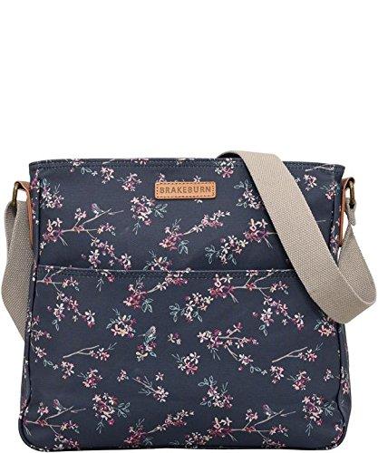Women's Brakeburn Robin Blossom Large Saddle Bag - Blue