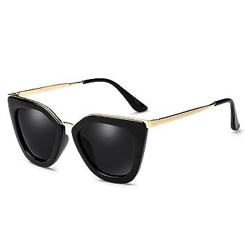 LXKMTYJ Color personalizado, gafas de sol polarizadas cara redonda Retro gafas Gafas Controladores de sapo