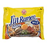 Ottogi Jin Ramen, Mild, 4.23 Ounce (Pack of 40)