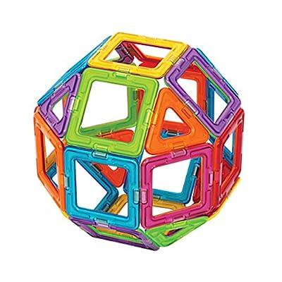 Magformers Magnetic Bloks Forme Geometriche Elementari 18 Quadrati E 12 Triangoli 701005