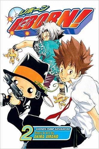 hitman reborn manga panels