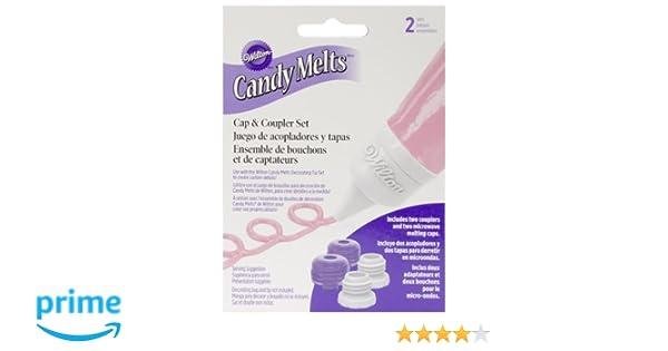 Wilton 1904-1022 Candy Melts Cap & Coupler Set