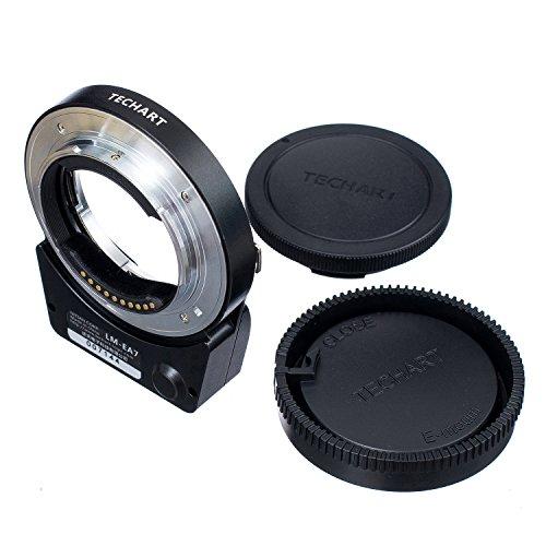 TECHART 5.0 LM-EA7 Auto Focus Lens Adapter for Leica M L/M Lens to Sony NEX A7II A7RII A6300 A6500 A7RIII A9