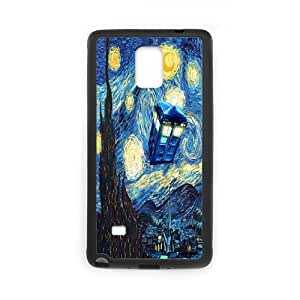 Classic Case Doctor Who pattern design For Samsung Galaxy Note 4 Phone Case