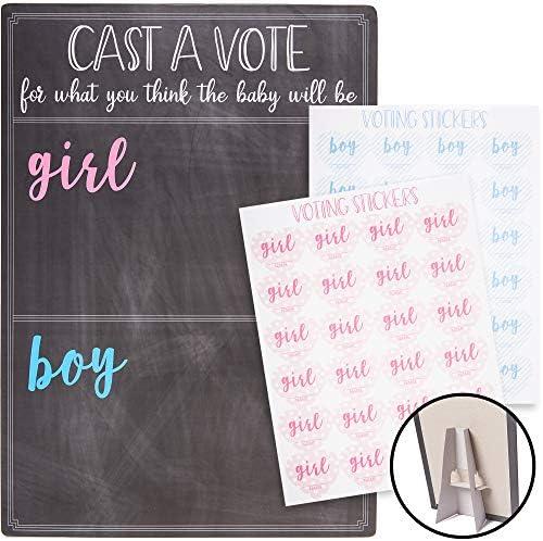 Juvale Gender Reveal Board Chalkboard product image