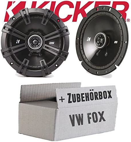 Volkswagen Fox Frontal – Futbolín DSC 670 | 16 cm Altavoz coaxial ...