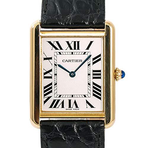 Cartier Tank Solo Quartz Male Watch W1018855 (Certified Pre-Owned)