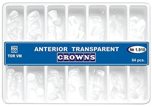 Anterior Transparent Crowns Matrices Matrix 64 pcs. TOR VM