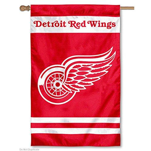 NHL Appliqué Flag NHL Team: Detroit Red Wings
