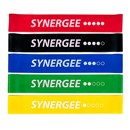Exercise Fitness Resistance Band Mini Loop Bands That Perform Better When Working Out at Home or The Gym by Synergee from iheartsynergee