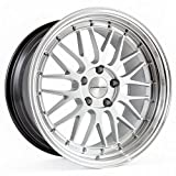 Varrstoen ES1 19X9.5 +22 5X114.3 73.1 Hyper Silver w/ Machined Lip