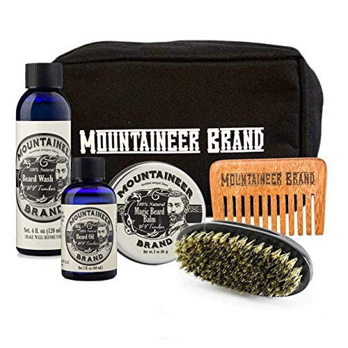 Canvas Dopp Beard Mountaineer Brand