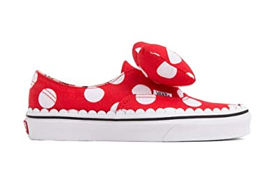 b48d4039ad32 Image Unavailable. Image not available for. Color  Vans Authentic Gore Disney  Minnie s Bow Skate Shoes ...