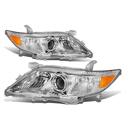 (DNA Motoring HL-OH-089-CH-AM Projector Headlight (Driver & Passenger Side))