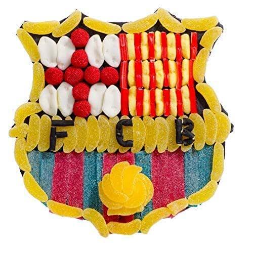 Tarta chuches FC Barcelona escudo: Amazon.es: Handmade