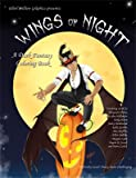 img - for Wings of Night; A Dark Fantasy Coloring Book book / textbook / text book