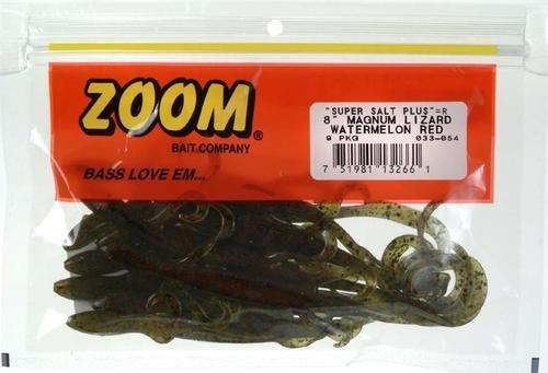 (Zoom Bait 8-Inch Magnum Lizard Bait-Pack of 9 (Watermelon Red))